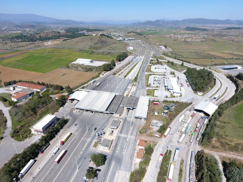 Συνοριακός σταθμός Ευζώνων