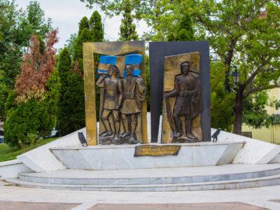 Monument of Heroes, Polykastro