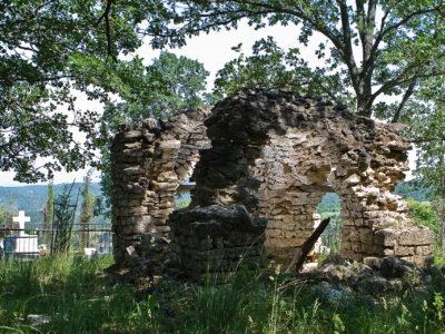 Old cemetery, Skra